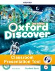 Oxford Discover Level 6 Student Book Classroom Presentation Tool cover