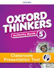 Oxford Thinkers Level 5 Activity Book Classroom Presentation Tool cover