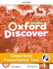 Oxford Discover Level 1 Workbook Classroom Presentation Tool cover