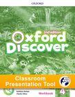Oxford Discover Level 4 Workbook Classroom Presentation Tool cover
