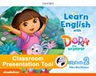 Learn English with Dora the Explorer Level 2 Activity Book Classroom Presentation Tool cover