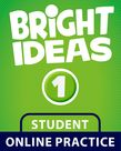 Bright Ideas Level 1 Online Practice Student Access Card cover
