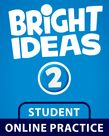 Bright Ideas Level 2 Online Practice Student Access Card cover