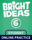 Bright Ideas Level 6 Online Practice Student Access Card cover