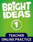 Bright Ideas Level 1 Online Practice cover