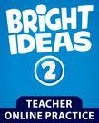 Bright Ideas Level  2 Online Practice cover