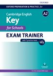 Oxford Preparation and Practice for Cambridge English A2 Key for Schools Exam Trainer with Key cover