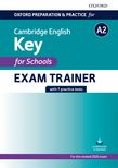 Oxford Preparation and Practice for Cambridge English A2 Key for Schools Exam Trainer cover