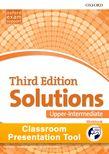 Solutions Upper-Intermediate Workbook Classroom Presentation Tool cover
