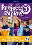 Project Explore Level 3 Student's Book Classroom Presentation Tool cover
