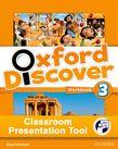 Oxford Discover 3 Workbook Classroom Presentation Tool cover