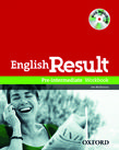 English Result Pre-Intermediate Workbook with Answer Booklet and MultiROM Pack cover