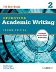 Effective Academic Writing Second Edition 2 Student Book cover