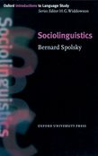 Sociolinguistics cover