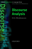 Discourse Analysis cover
