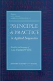 Principle and Practice in Applied Linguistics cover