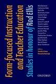 Form-focused Instruction and Teacher Education cover