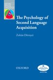 The Psychology of Second Language Acquisition e-book for Kindle cover