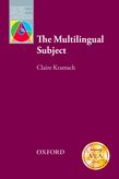 The Multilingual Subject e-book for Kindle cover