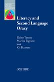 Literacy and Second Language Oracy e-book for Kindle cover