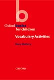 Vocabulary Activities e-book cover