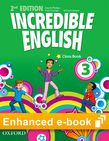 Incredible English 3 Class Book e-Book cover