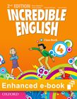 Incredible English 4 Class Book e-Book cover
