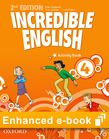 Incredible English 4 Activity Book e-Book cover