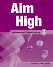 Aim High Level 3 Workbook with Online Practice cover