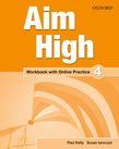 Aim High Level 4 Workbook with Online Practice cover