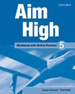Aim High Level 5 Workbook with Online Practice cover