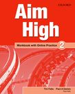 Aim High Level 2 Workbook with Online Practice cover