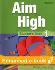 Aim High Level 1 Student's Book e-book cover