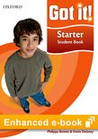 Got It! Starter Student e-book cover