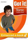 Got It! Starter Student e-book cover