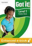Got It! Level 1 Student e-book cover