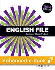 English File Beginner Student's Book e-Book cover