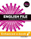 English File Intermediate Plus Workbook e-Book cover