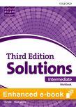 Solutions Intermediate Workbook e-Book cover
