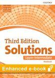 Solutions Upper-Intermediate Workbook e-Book cover