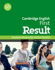 Cambridge English: First Result Student's Book and Online Practice Pack cover