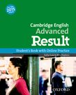 Cambridge English: Advanced Result Student's Book and Online Practice Pack cover