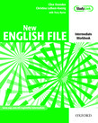 New English File Intermediate Workbook with key and MultiROM Pack cover