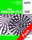 New English File Intermediate Workbook with MultiROM Pack cover