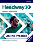 Headway Advanced Online Practice cover