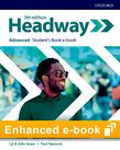 Headway Advanced Student's Book e-book cover
