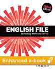 English File Elementary Workbook e-Book cover