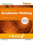 Effective Academic Writing Introductory e-book cover