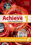 Achieve Level 1 Student Book & Workbook e-book cover