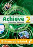 Achieve Level 2 Student Book & Workbook e-book cover